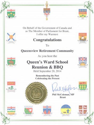 Queensview Award 2014